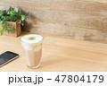 カフェイメージ チーズティー スマートフォン 47804179