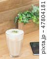 カフェイメージ チーズティー スマートフォン 47804181