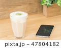 カフェイメージ チーズティー スマートフォン 47804182