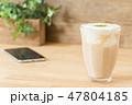 カフェイメージ チーズティー スマートフォン 47804185