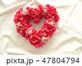 ハートの薔薇のリース 47804794