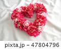 ハートの薔薇のリース 47804796