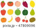 果物 イラスト 47809096