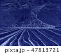 嵐の夜モンサンミッシェル2 47813721