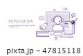 ベクタ ベクター ベクトルのイラスト 47815118