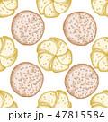 ブレッド ロールパン ベーカリーのイラスト 47815584