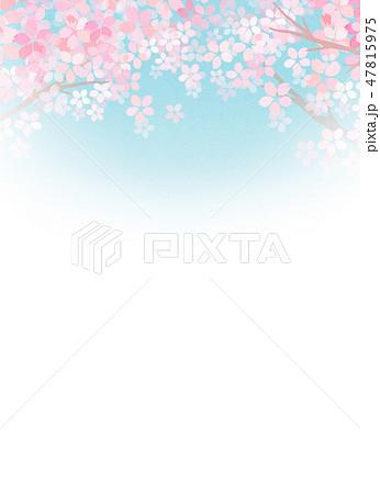 桜 和紙風 テクスチャー 47815975