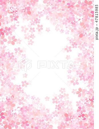 桜 和紙風 テクスチャー 47815985