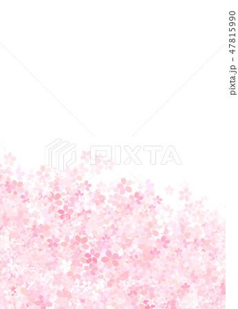 桜 和紙風 テクスチャー 47815990