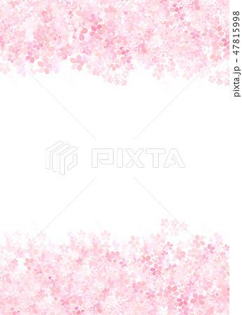 桜 和紙風 テクスチャー 47815998