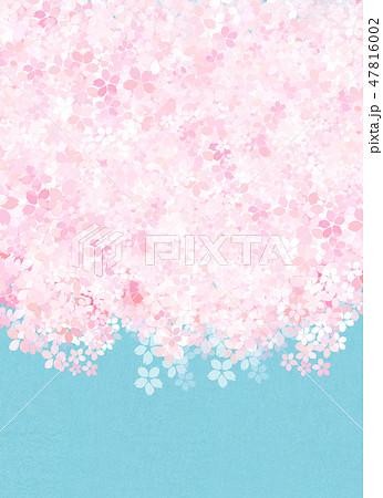 桜 和紙風 テクスチャー 47816002