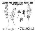 シェパード 羊飼い カバンのイラスト 47819218