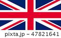 イギリス 国旗 Union Jack 47821641