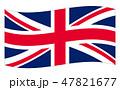 イギリス 国旗(縁あり) Union Jack 47821677