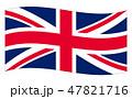 イギリス 国旗(縁あり) Union Jack 47821716