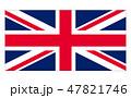 イギリス 国旗(縁あり) Union Jack 47821746
