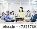 オフィス ビジネスマン ビジネスの写真 47823789
