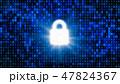 錠 安全 セキュリティのイラスト 47824367