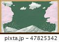 桜 花びら 春のイラスト 47825342