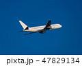 飛行機 飛行 航空機の写真 47829134