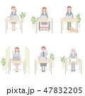 日本ユニバーサルマナー協会監修素材 ビジネスシーン 47832205