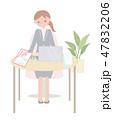 日本ユニバーサルマナー協会監修素材 聴覚障害者 47832206