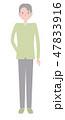 日本ユニバーサルマナー協会監修素材 聴覚障害者 47833916