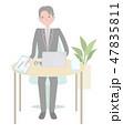 日本ユニバーサルマナー協会監修素材 聴覚障害者 47835811