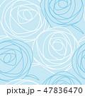 バラ 花 模様のイラスト 47836470