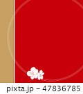 梅の輪 47836785