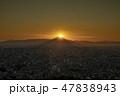 富士山 夕景 風景の写真 47838943