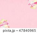 和柄 桜 背景のイラスト 47840965