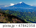 山 風景 富士山の写真 47842358