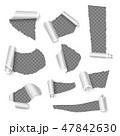 紙 ペーパー 紙類のイラスト 47842630