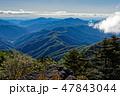 山 奥多摩 山並みの写真 47843044