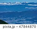 山 風景 白峰三山の写真 47844870