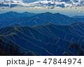山 奥多摩 山並みの写真 47844974