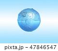 地球 水 アクアのイラスト 47846547