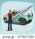 整備士 メカニック 整備工のイラスト 47847264