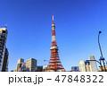 東京タワー 港区 タワーの写真 47848322