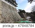 天守閣木造復元工事が始まる名古屋城にて 47848784