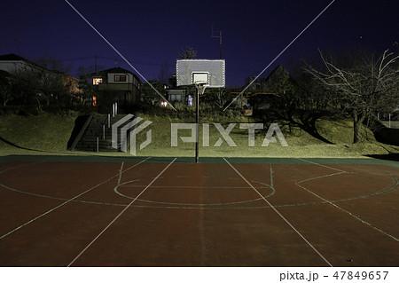 栃木県塩谷郡高根沢町 宝石台あおぞら公園 バスケッボールトコート 47849657