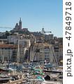 マルセイユ 旧港 港の写真 47849718