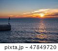 フランス マルセイユ 夕日の写真 47849720