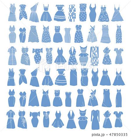 女性服のイラスト, 47850335