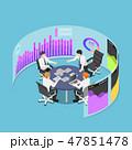 ビジネス 職業 カンファレンスのイラスト 47851478