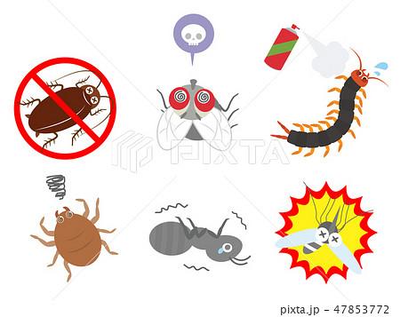 害虫アイコンセット2 47853772