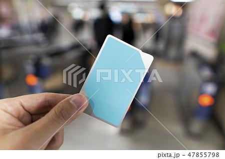 ICカード 交通イメージ 47855798