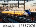 北陸新幹線 新幹線 電車の写真 47857076
