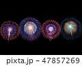 花火 花火大会 打ち上げ花火の写真 47857269